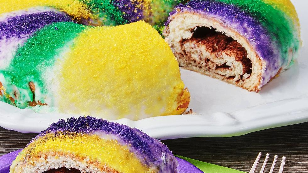 King Cake (Cinnamon)