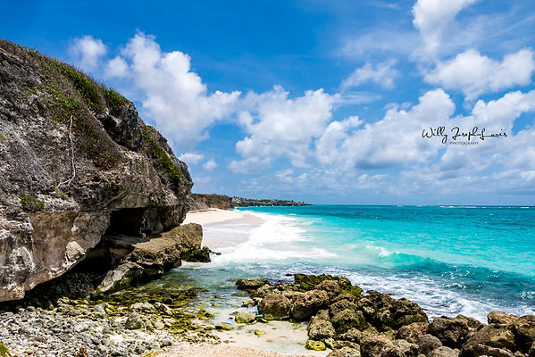 seascape in Barbados