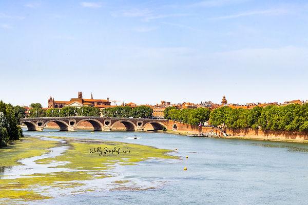 Le fleuve La Garonne à Toulouse