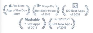 Awards this app has won