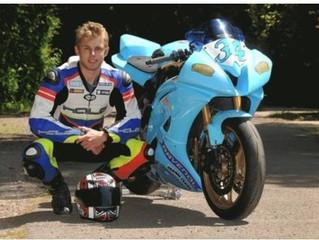 Nutbourne Landscapes Sponsor Motorcycle racer Don Gilbert