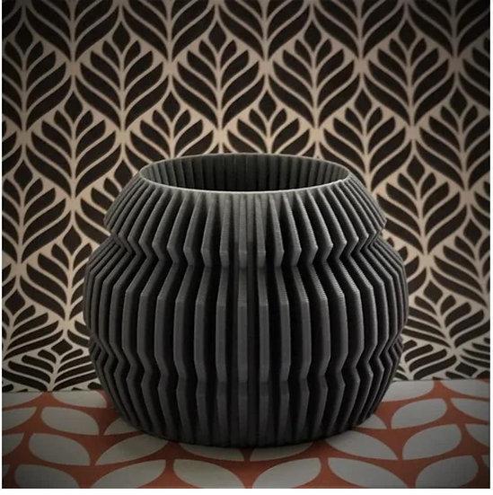 Finned Vase