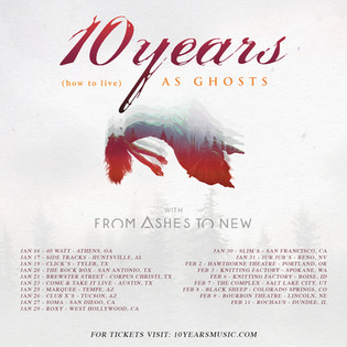 January Tour with 10 Years!