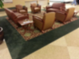 Custom made rug for Mercy Gilbert Medical Center: 16' X 16'