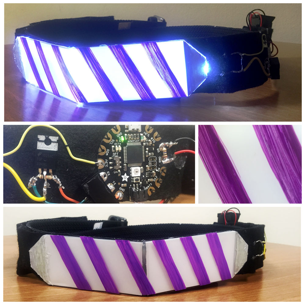 LED Motion-Sensitive Belt