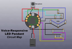 Pendant Circuit Map
