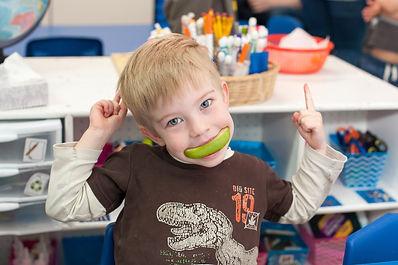 healthy kid at KidsCentre pre-k preschool