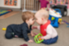 two cute babies infant care seattle KidsCentre