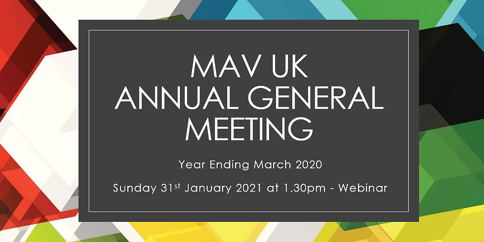 Annual General Meeting - Year Ending March 2020