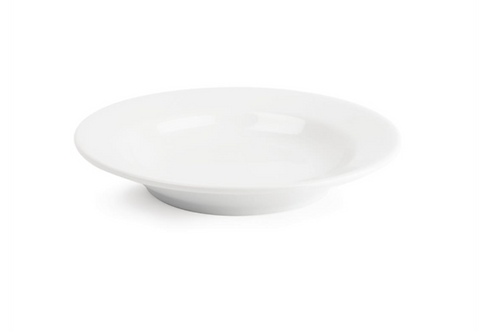 White Soup Plates Hire
