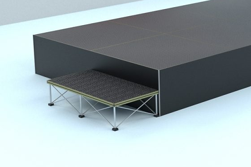 Stage Platforms and 2 Steps