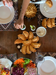 Feines Essen für unsere Gäste