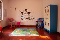 Das fertig eingerichtete Kinderzimmer