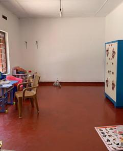 Das Kinderzimmer vor der Eröffnung
