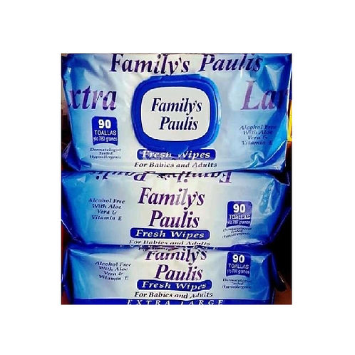 FAMILY PAULIS TOALLITAS HUMEDAS