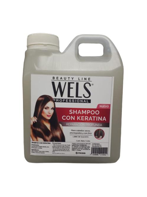 WELS SHAMPOO DE KERATINA LTR