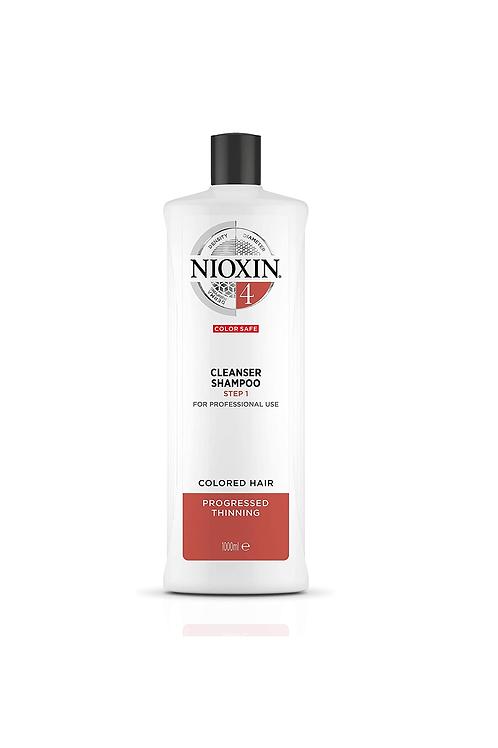 NIOXIN 4 CLEANSER SHAMPOO 1000ML