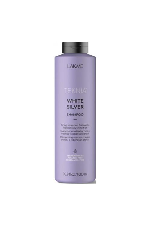 LAKME SHAMPOO WHITE SILVER 1L
