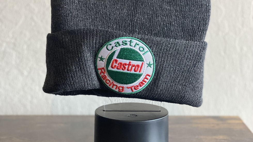 Castrol Racing thinking cap (beanie)