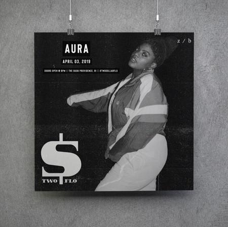 Aura Artist Poster