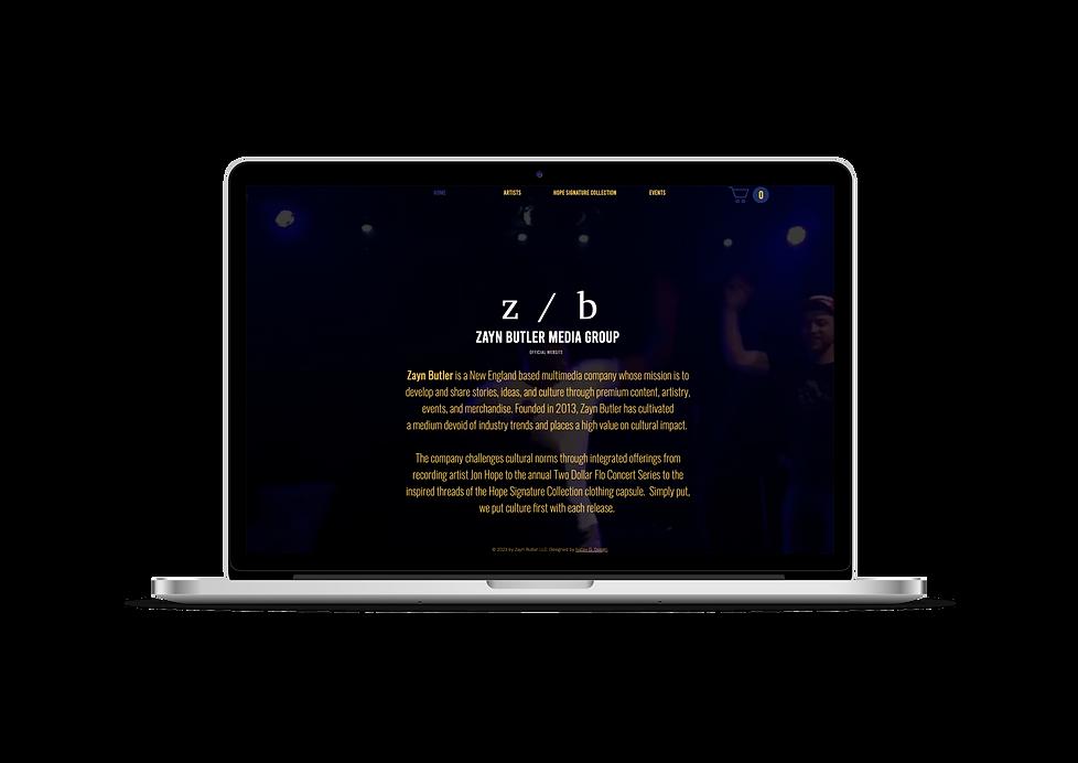 Zayn Buter LLC Website
