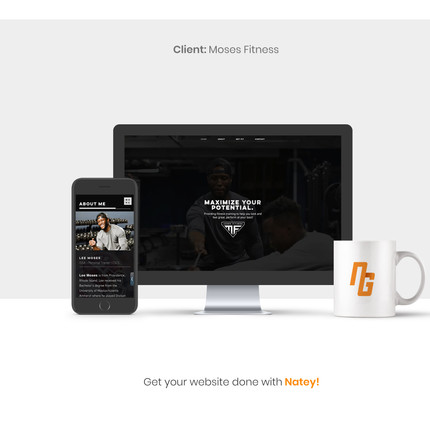 Moses Fitness Website