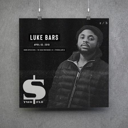 Luke Bars Artist Poster
