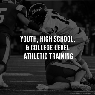 Youth, High School, & College Level Training
