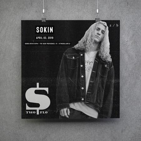 Sokin Artist Poster