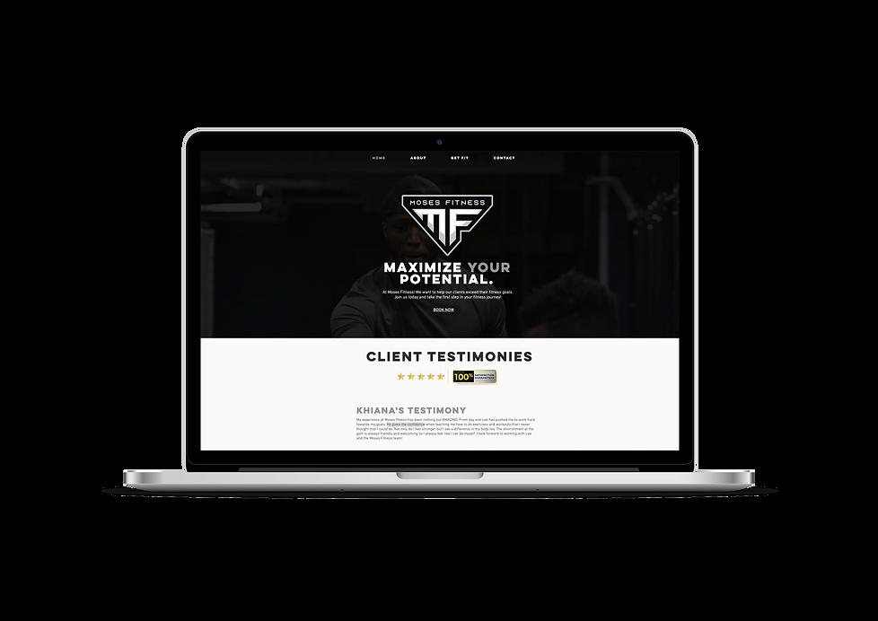 Moses Fitness LLC Website