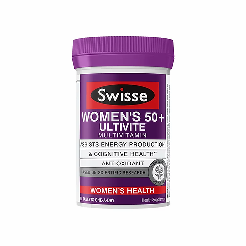 Swisse 50+ 女士維生素 90粒