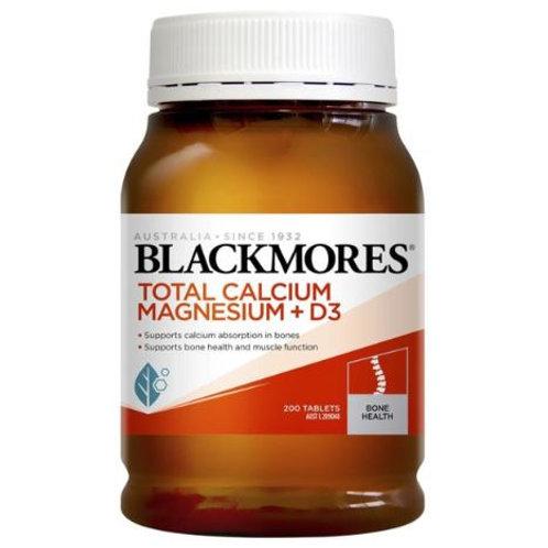 BLACKMORES - 活性鈣片D3+鎂配方 200粒 (平行進口貨)