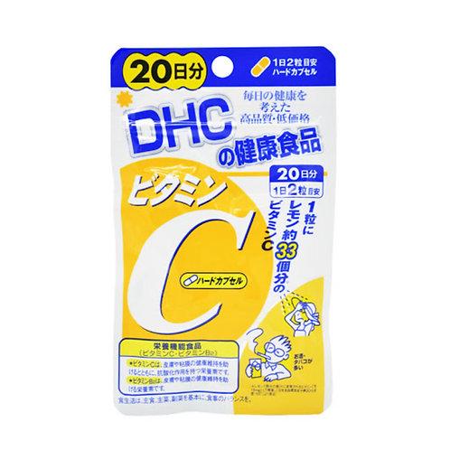 DHC - 維他命C補充食品 20日份exp:11/2022 (平行進口貨)