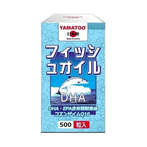 YAMATOO - DHA EPA精製魚油 500粒