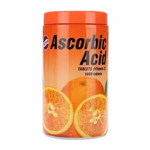 PATAR - 泰國Ascorbic Acid維他命C咀嚼片 1000粒