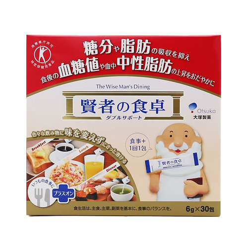 大塚 - 賢者之食卓膳食纖維 (阻澱粉 隔油份) 30包盒