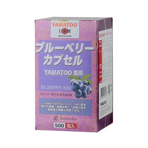 YAMATOO - YAMATOO藍莓素500粒(平行進口貨)