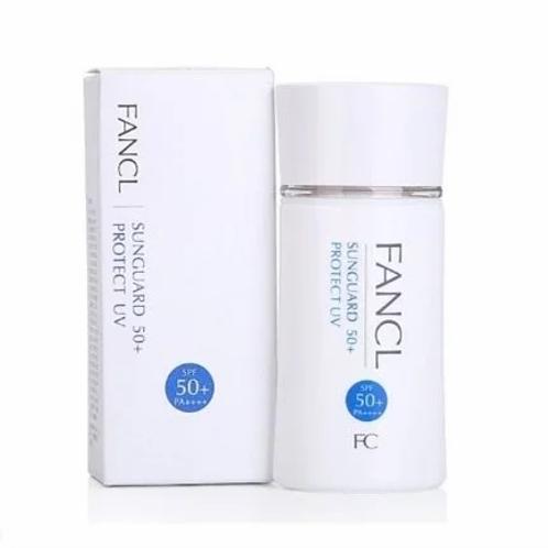 FANCL - 無添加物理防曬隔離乳SPF50+PA++++60ml (平行進口貨)