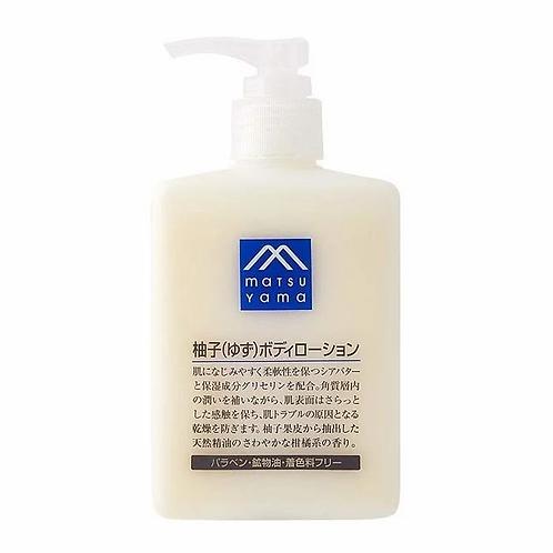 MATSUYAMA 松屋 - 松山油脂天然柚子精華滋潤保濕防乾燥身體乳液 300ml