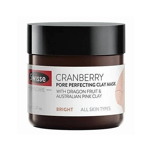 Swisse - 蔓越莓毛孔收縮礦物泥清潔面膜