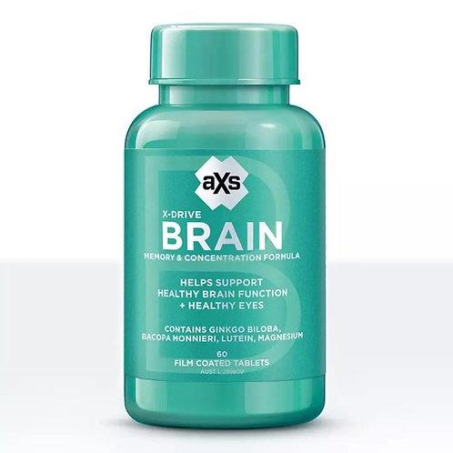 aXs 腦力黄金素 60片/瓶 (平行進口貨)