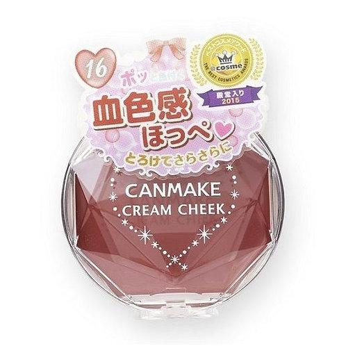 Canmake - 夢幻胭脂膏 - 16 磚紅色