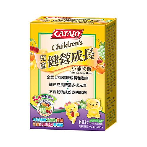 CATALO - 兒童健營成長小熊軟糖 60粒 (平行進口貨)