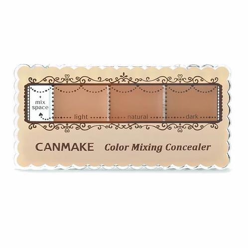 Canmake - 三色遮瑕膏 #02自然膚色