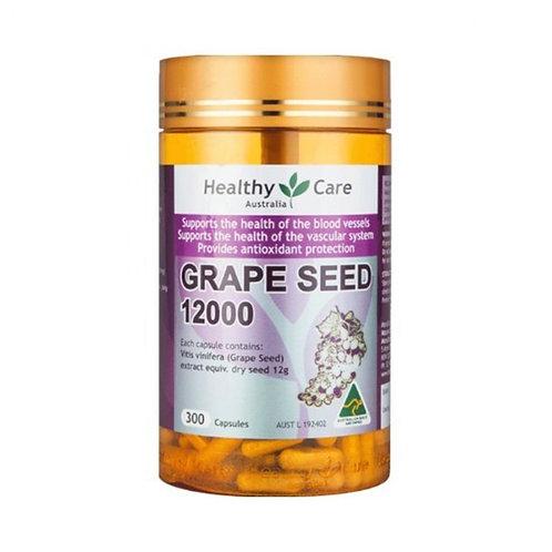 HealthyCare - 葡萄籽 12000mg 300粒