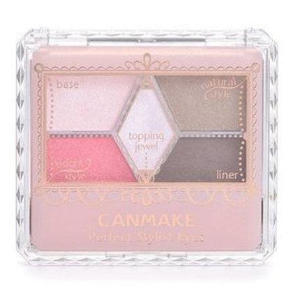 Canmake - 完美高效眼影 07桃粉紅