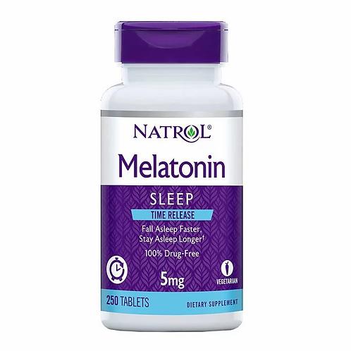 Natrol - 緩䆁性褪黑激素 5毫克 250片