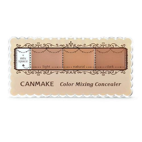 Canmake - 三色遮瑕膏 #01明亮膚色 (平行進口貨)
