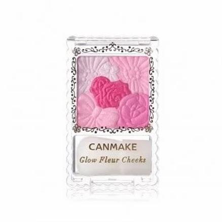 Canmake - 花漾瑰麗胭脂 - 08 紫紅莓色 (平行進口貨)