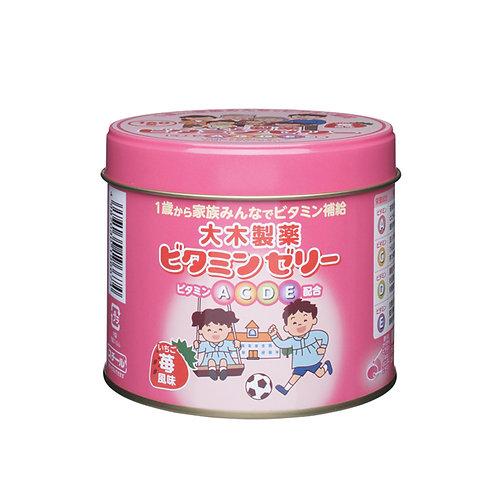 大木製藥 兒童複合維生素片軟糖 120粒 (草莓味)